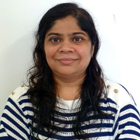 Mrs Dimple M Shah - Physiotherapy